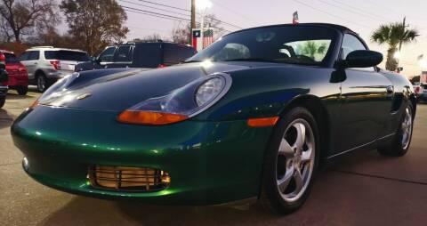 2001 Porsche Boxster for sale at Car Ex Auto Sales in Houston TX