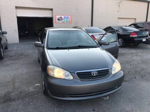 2005 Toyota Corolla for sale at Reliable Auto Sales in Plano TX