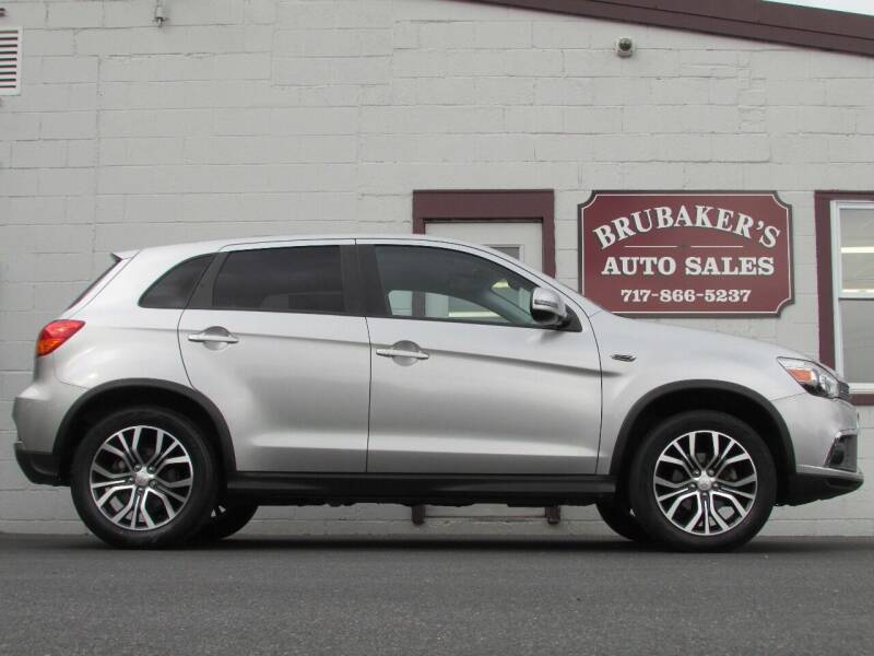2018 Mitsubishi Outlander Sport for sale at Brubakers Auto Sales in Myerstown PA