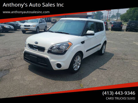 2012 Kia Soul for sale at Anthony's Auto Sales Inc in Pittsfield MA