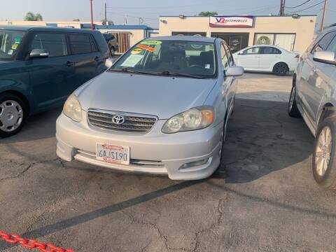 2008 Toyota Corolla for sale at VR Automobiles in National City CA