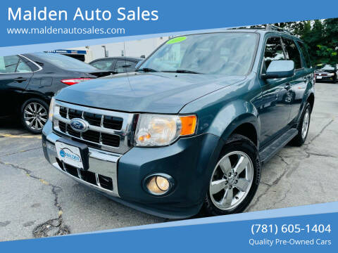 2012 Ford Escape for sale at Malden Auto Sales in Malden MA