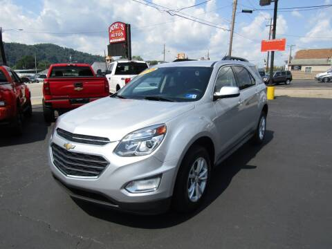 2016 Chevrolet Equinox for sale at Joe's Preowned Autos in Moundsville WV