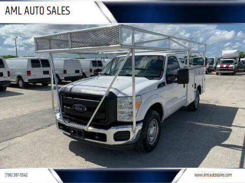 2014 Ford F-250 Super Duty for sale at AML AUTO SALES - Utility Trucks in Opa-Locka FL