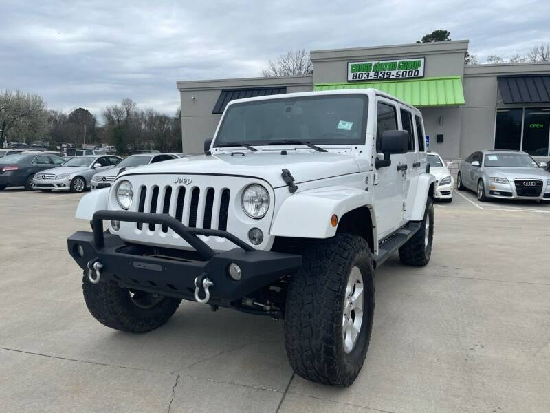 2014 Jeep Wrangler Unlimited for sale at Cross Motor Group in Rock Hill SC