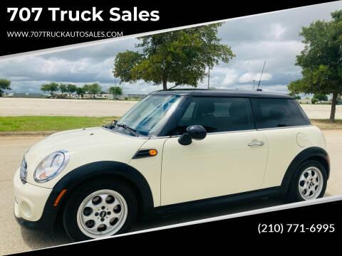 2012 MINI Cooper Hardtop for sale at 707 Truck Sales in San Antonio TX