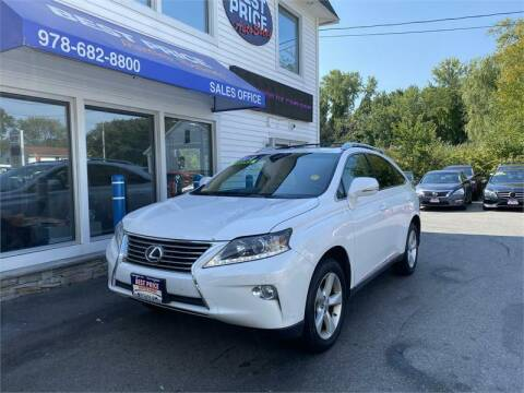 2014 Lexus RX 350 for sale at Best Price Auto Sales in Methuen MA