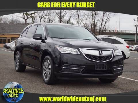 2014 Acura MDX for sale at Worldwide Auto in Hamilton NJ