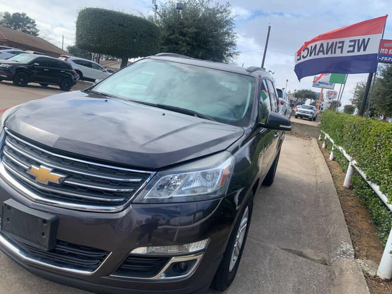 2014 Chevrolet Traverse for sale at Casablanca in Garland TX