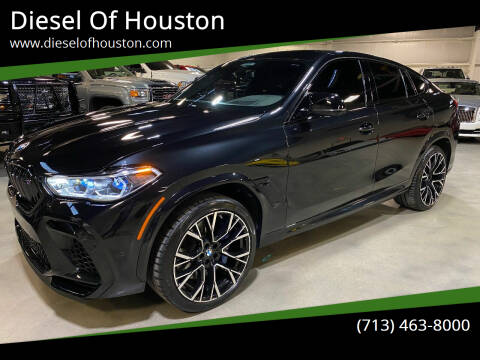 2021 BMW X6 M for sale at Diesel Of Houston in Houston TX