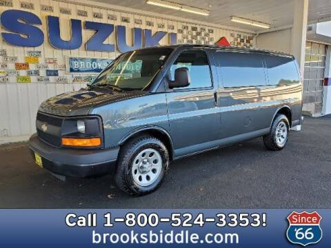 2014 Chevrolet Express Cargo for sale at BROOKS BIDDLE AUTOMOTIVE in Bothell WA
