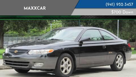 2000 Toyota Camry Solara for sale at MaxxCar in Sarasota FL