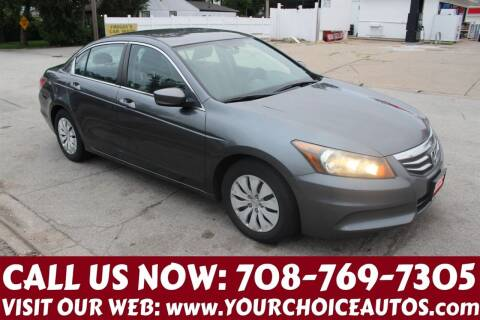 2011 Honda Accord for sale at Your Choice Autos in Posen IL