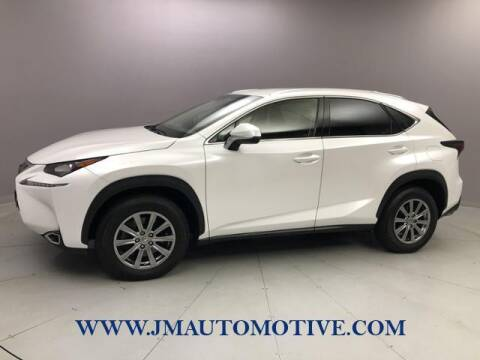 2017 Lexus NX 200t for sale at J & M Automotive in Naugatuck CT