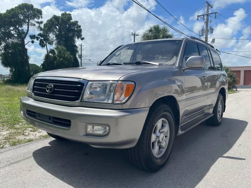 2001 Toyota Land Cruiser for sale at American Classics Autotrader LLC in Pompano Beach FL