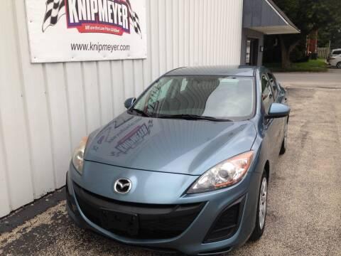 2011 Mazda MAZDA3 for sale at Team Knipmeyer in Beardstown IL