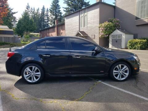 2015 Chevrolet Cruze for sale at Seattle Motorsports in Shoreline WA