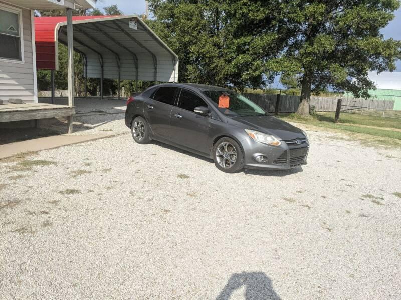 2013 Ford Focus for sale at Halstead Motors LLC in Halstead KS