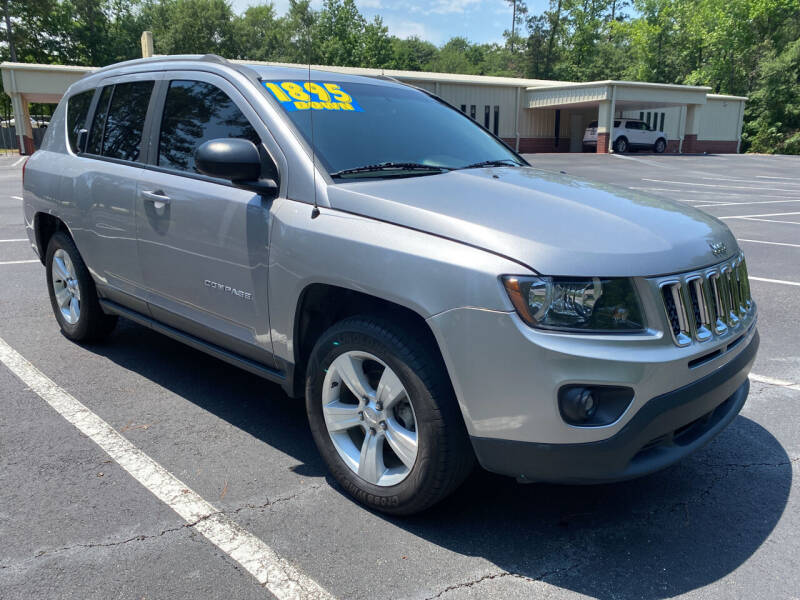 2016 Jeep Compass for sale at B & M Car Co in Conroe TX