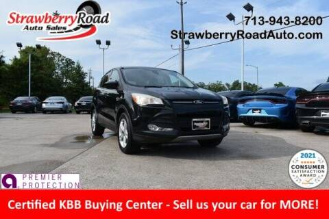 2013 Ford Escape for sale at Strawberry Road Auto Sales in Pasadena TX