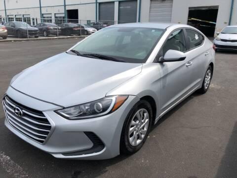 2017 Hyundai Elantra for sale at Ultimate Motors in Port Monmouth NJ