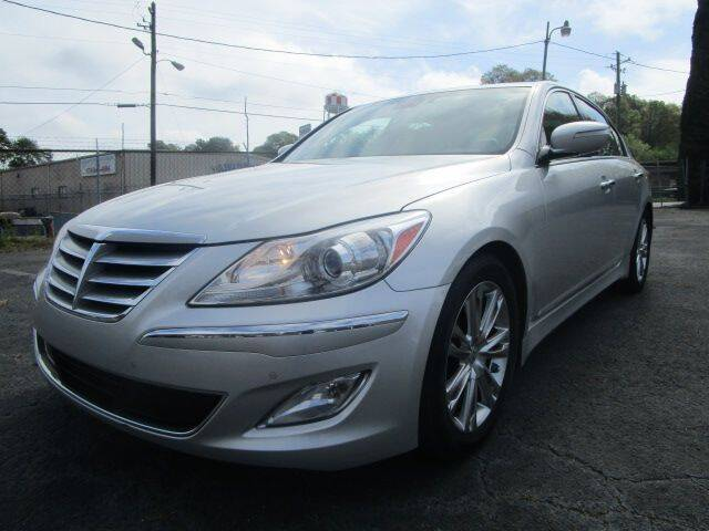 2013 Hyundai Genesis for sale at Lewis Page Auto Brokers in Gainesville GA