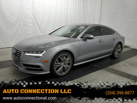 2017 Audi A7 for sale at AUTO CONNECTION LLC in Montgomery AL