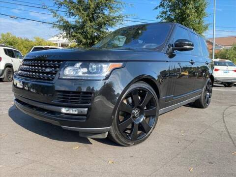 2016 Land Rover Range Rover for sale at iDeal Auto in Raleigh NC