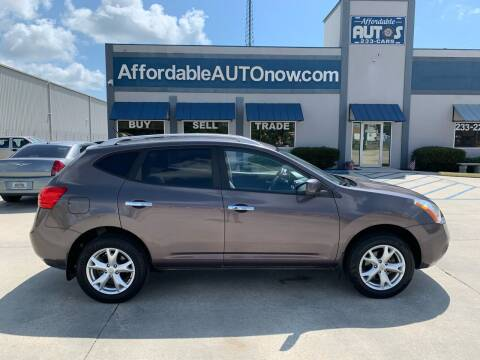 2010 Nissan Rogue for sale at Affordable Autos in Houma LA