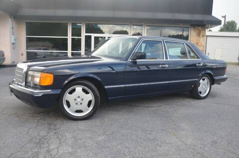 1991 Mercedes-Benz 560-Class for sale at Amyn Motors Inc. in Tucker GA