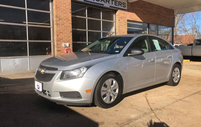 2012 Chevrolet Cruze for sale at County Seat Motors East in Union MO