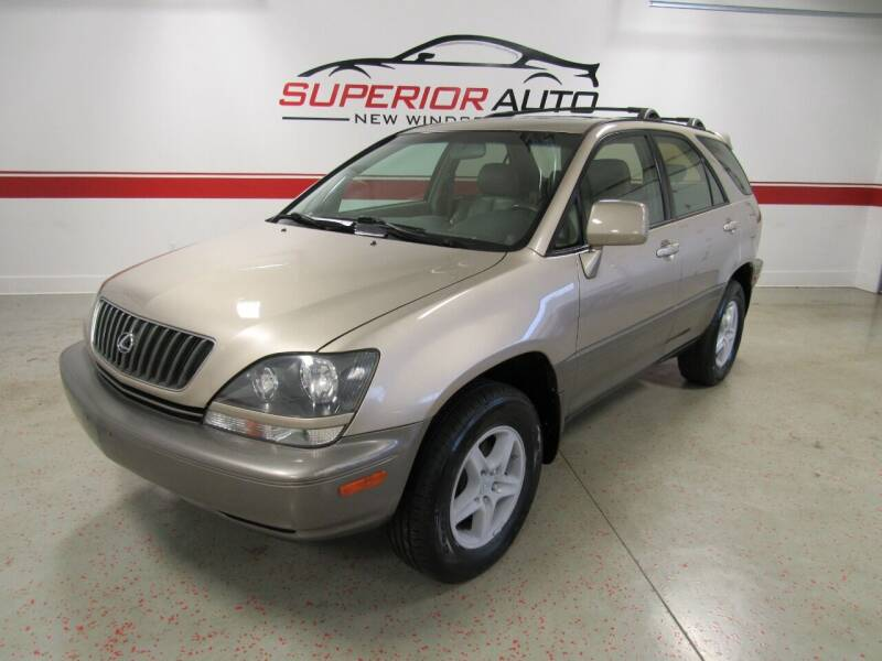 2000 Lexus RX 300 for sale at Superior Auto Sales in New Windsor NY