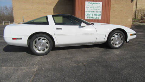 1995 Chevrolet Corvette for sale at LENTZ USED VEHICLES INC in Waldo WI