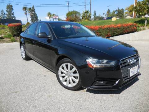 2014 Audi A4 for sale at ARAX AUTO SALES in Tujunga CA