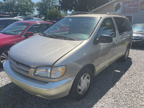 2000 Toyota Sienna for sale at Trocci's Auto Sales in West Pittsburg PA