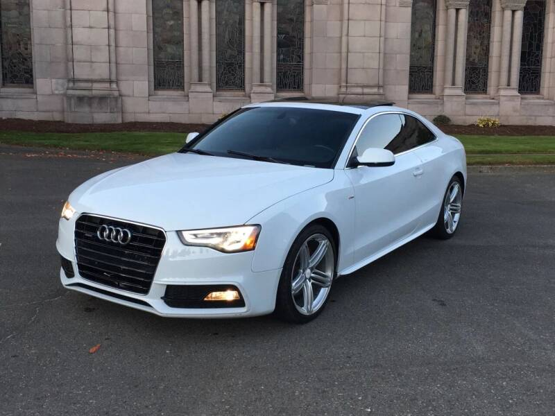 2013 Audi A5 for sale at First Union Auto in Seattle WA