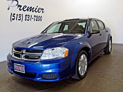 2013 Dodge Avenger for sale at Premier Automotive Group in Milford OH