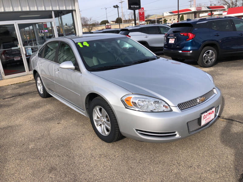 2014 Chevrolet Impala Limited for sale at ROTMAN MOTOR CO in Maquoketa IA