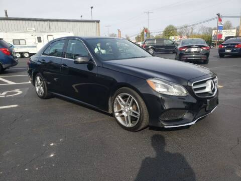 2014 Mercedes-Benz E-Class for sale at Used Car Factory Sales & Service Troy in Troy OH