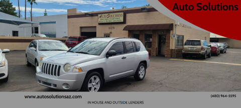 2008 Jeep Compass for sale at Auto Solutions in Mesa AZ