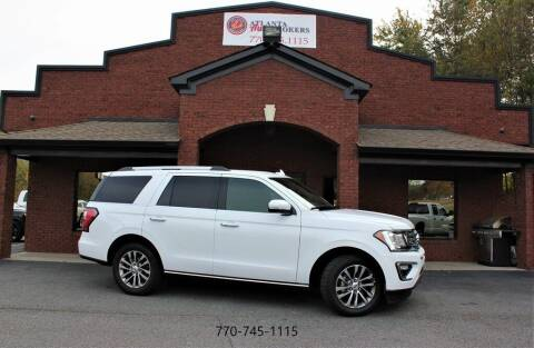 2018 Ford Expedition for sale at Atlanta Auto Brokers in Cartersville GA