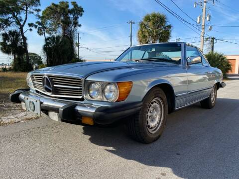 1985 Mercedes-Benz 380-Class for sale at American Classics Autotrader LLC in Pompano Beach FL