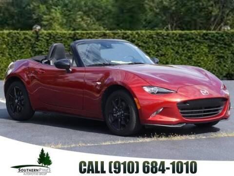 2019 Mazda MX-5 Miata for sale at PHIL SMITH AUTOMOTIVE GROUP - Pinehurst Nissan Kia in Southern Pines NC