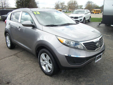 2012 Kia Sportage for sale at USED CAR FACTORY in Janesville WI