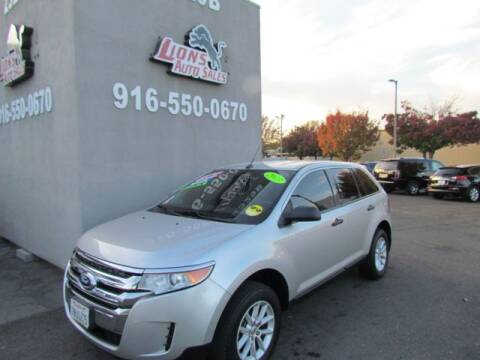 2013 Ford Edge for sale at LIONS AUTO SALES in Sacramento CA
