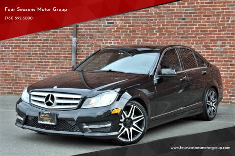 2013 Mercedes-Benz C-Class for sale at Four Seasons Motor Group in Swampscott MA