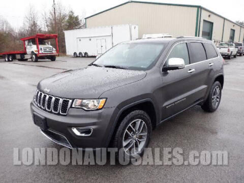 2018 Jeep Grand Cherokee for sale at London Auto Sales LLC in London KY