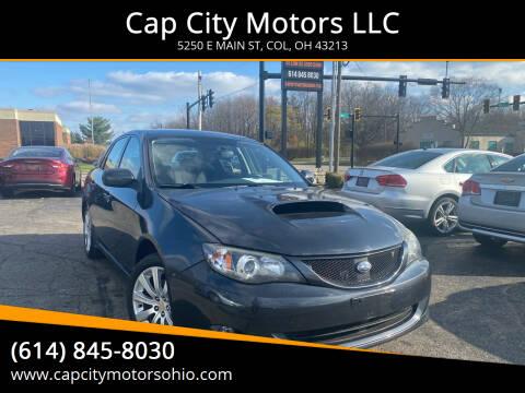 2008 Subaru Impreza for sale at Cap City Motors LLC in Columbus OH