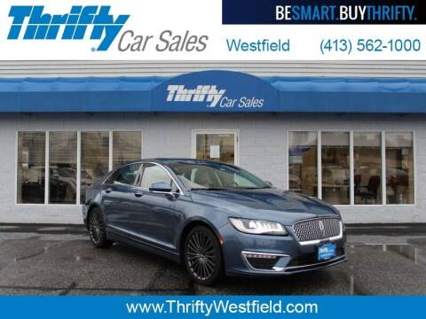 2018 Lincoln MKZ Hybrid for sale at Thrifty Car Sales Westfield in Westfield MA