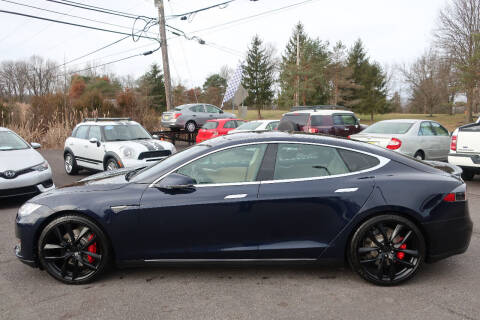2014 Tesla Model S for sale at GEG Automotive in Gilbertsville PA